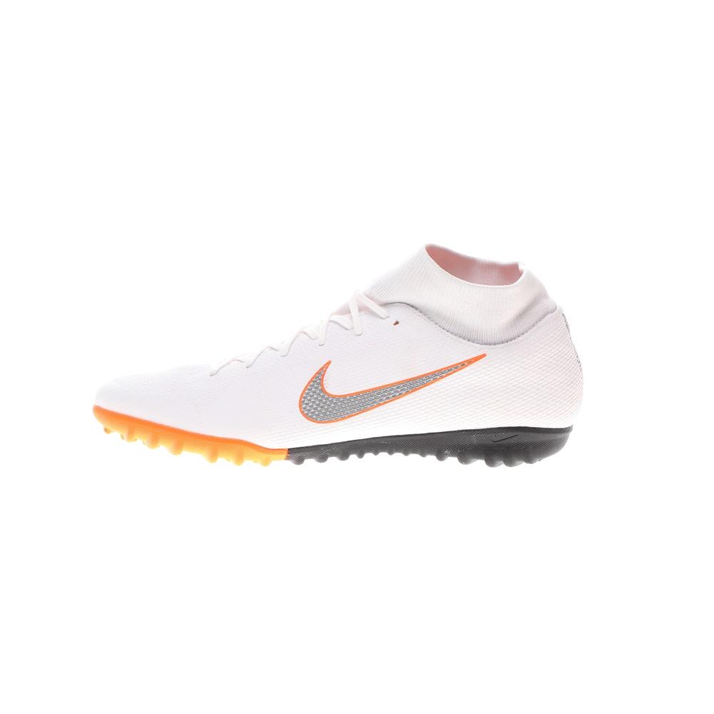 NIKE – Ποδοσφαιρικά παπούτσια Nike SuperflyX 6 Academy TF Me λευκά