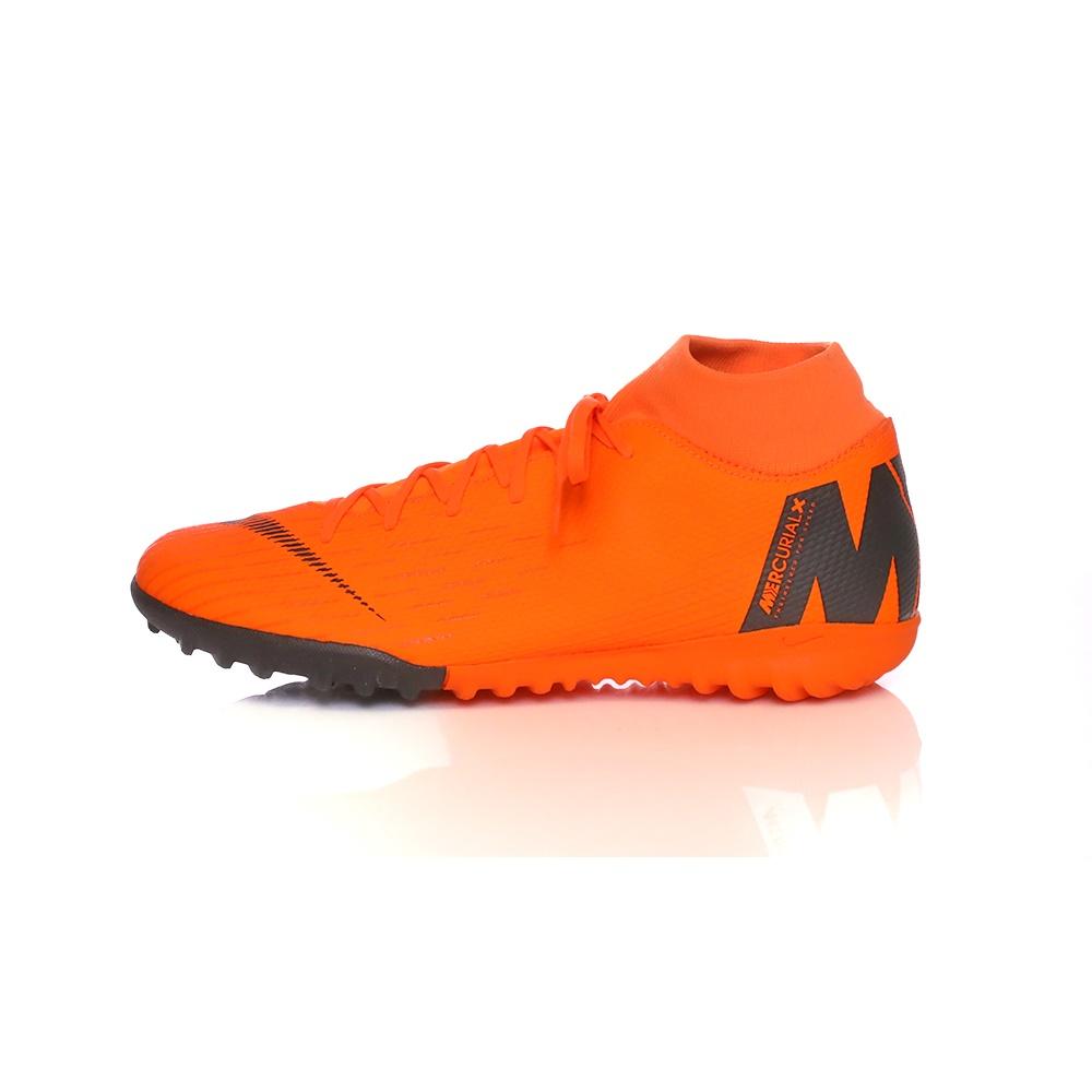 NIKE – Ανδρικά παπούτσια ποδοσφαίρου ΝΙΚΕ SUPERFLYX 6 ACADEMY TF πορτοκαλί