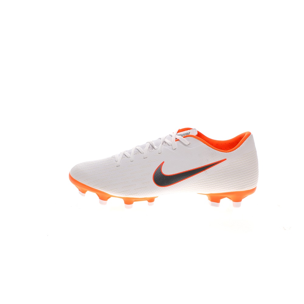 NIKE – Unisex ποδοσφαιρικά παπούτσια NIKE Vapor 12 Academy λευκά πορτοκαλί