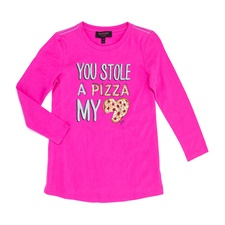 JUICY COUTURE KIDS-Παιδική μπλούζα JUICY COUTURE KIDS ροζ