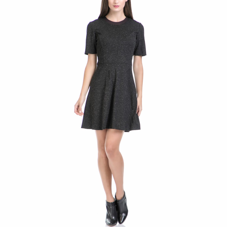 JUICY COUTURE - Γυναικείο mini φόρεμα JUICY COUTURE μαύρο