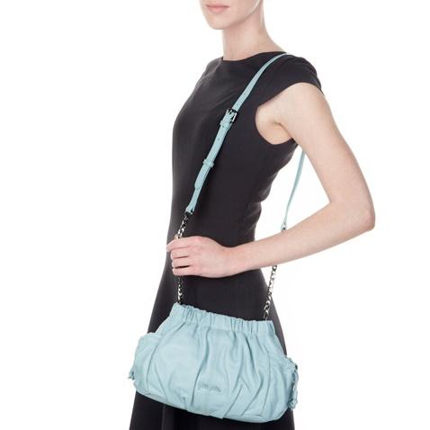 FOLLI FOLLIE-Γυναικεία τσάντα FOLLI FOLLIE μπλε