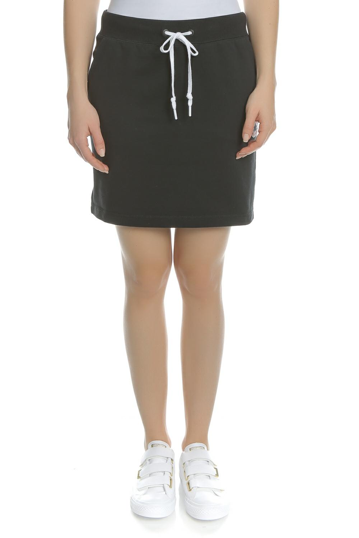 CONVERSE - Γυναικεία μίνι φούστα CONVERSE μαύρη