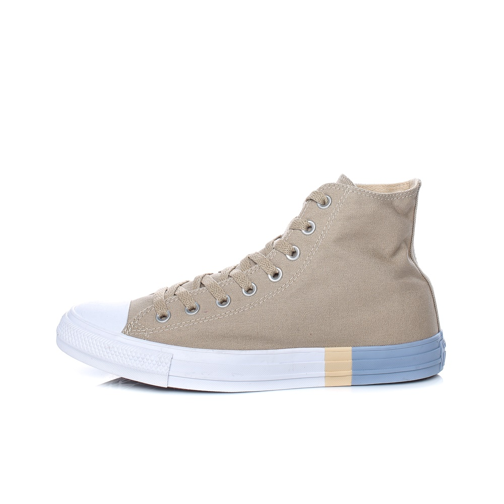 CONVERSE – Unisex παπούτσια CONVERSE Chuck Taylor All Star Hi μπεζ