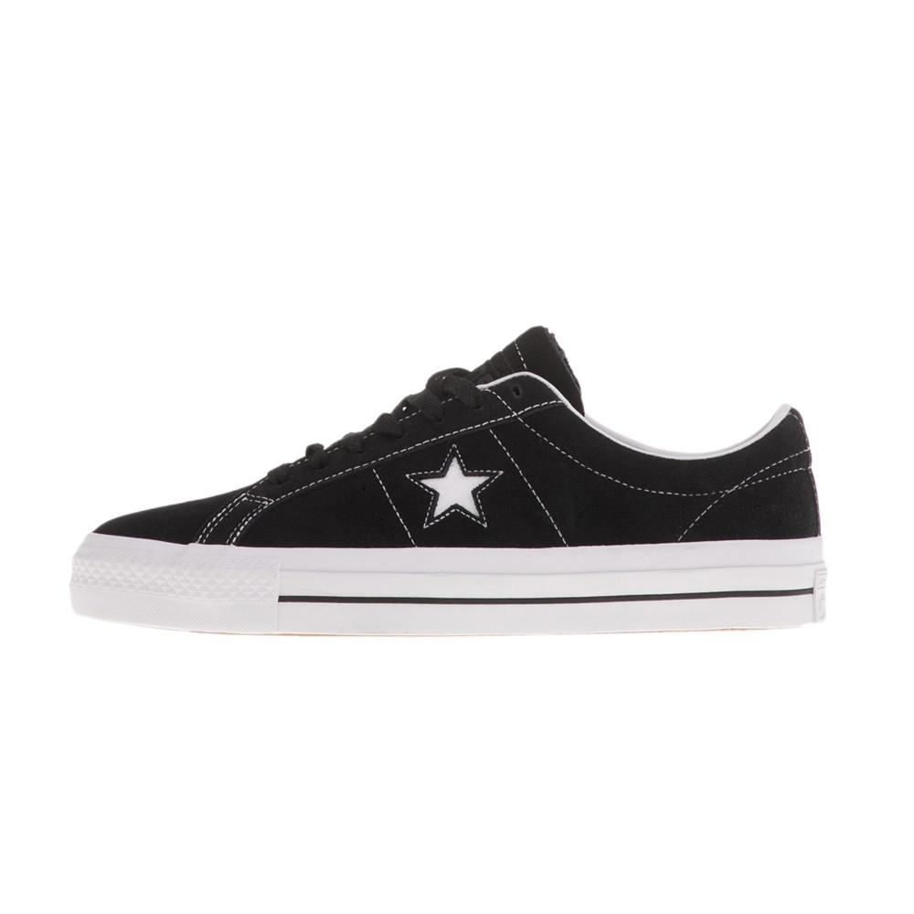 CONVERSE – Unisex sneakers CONVERSE ONE STAR PRO μαύρα