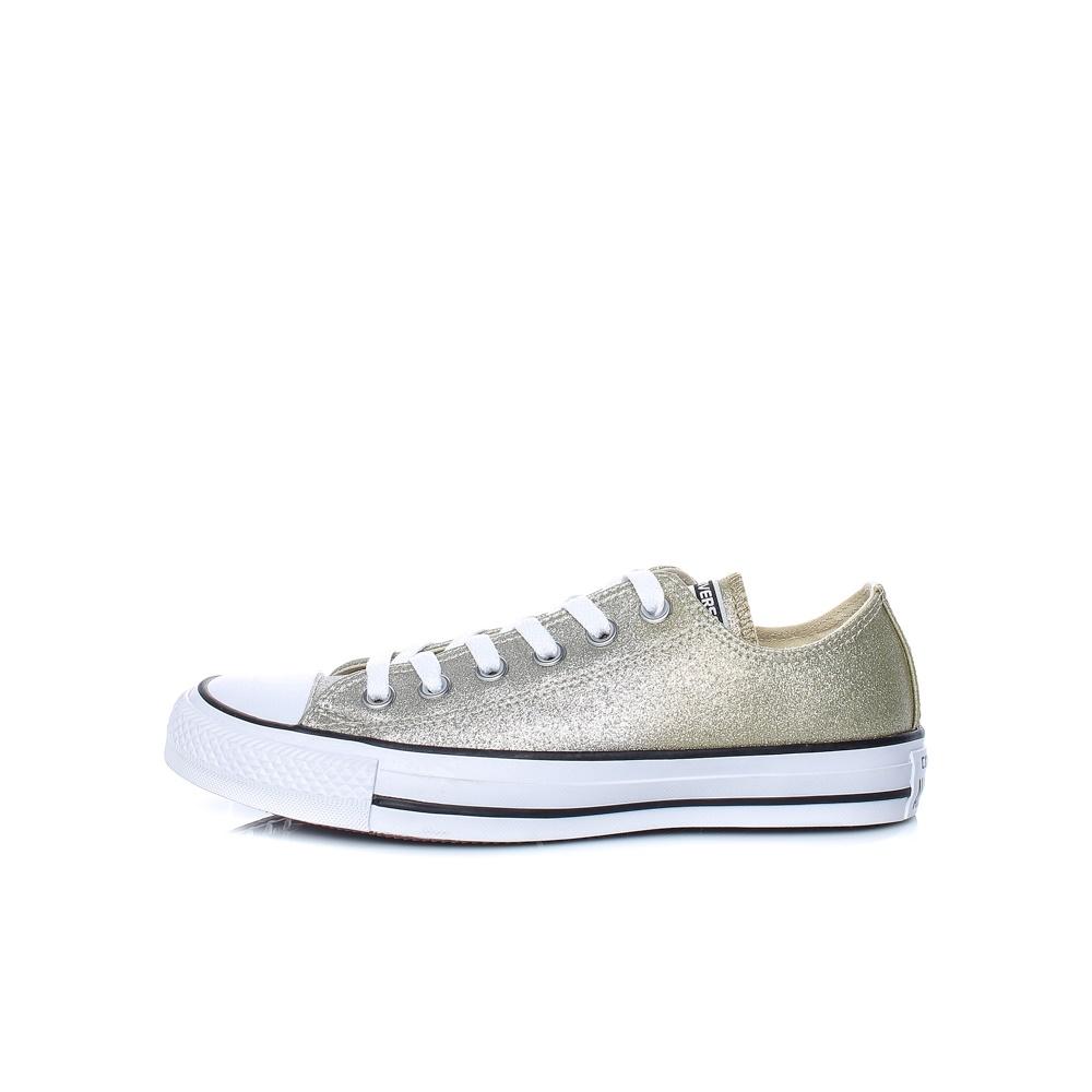CONVERSE – Γυναικεία παπούτσια Chuck Taylor All Star Ox χρυσά