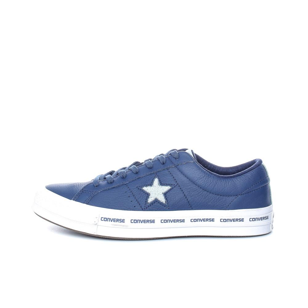 CONVERSE – Unisex παπούτσια CONVERSE One Star Ox μπλε