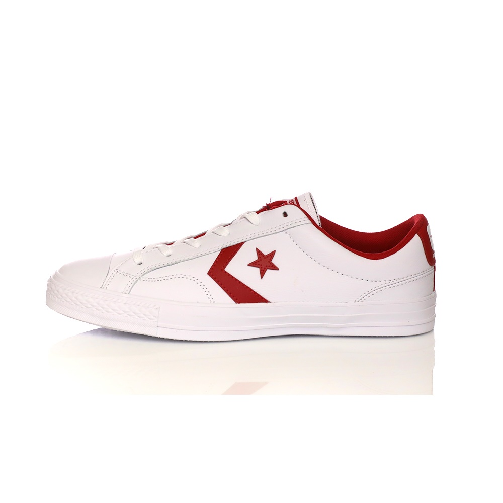 CONVERSE – Unisex sneakers CONVERSE Star Player Ox λευκά