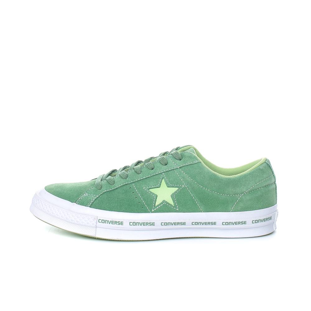 CONVERSE – Unisex παπούτσια One Star Ox πράσινα