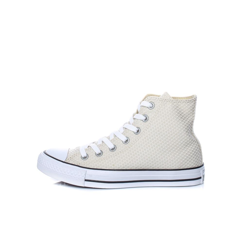 CONVERSE - Γυναικεία παπούτσια CONVERSE Chuck Taylor All Star Hi εκρού d50b18a0438