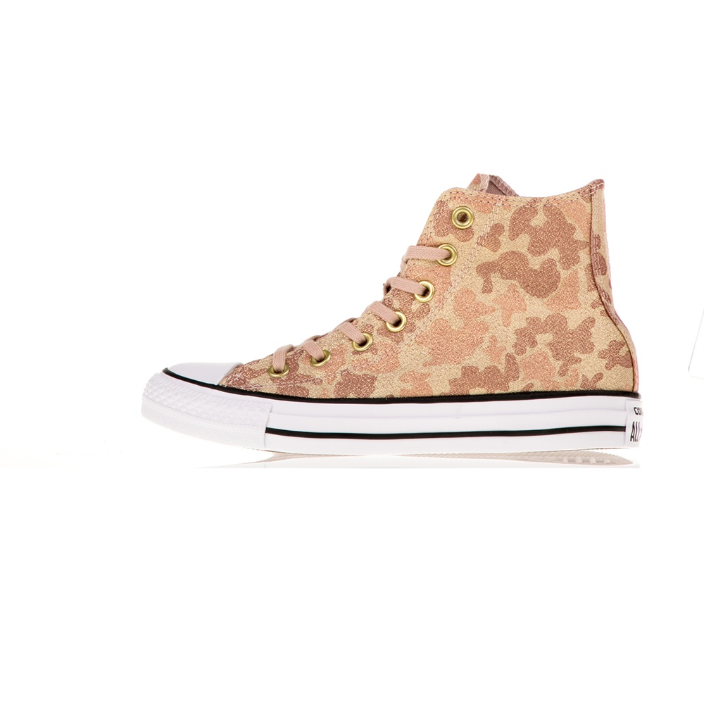 CONVERSE – Γυναικεία sneakers CONVERSE Chuck Taylor All Star Hi χρυσά ροζ