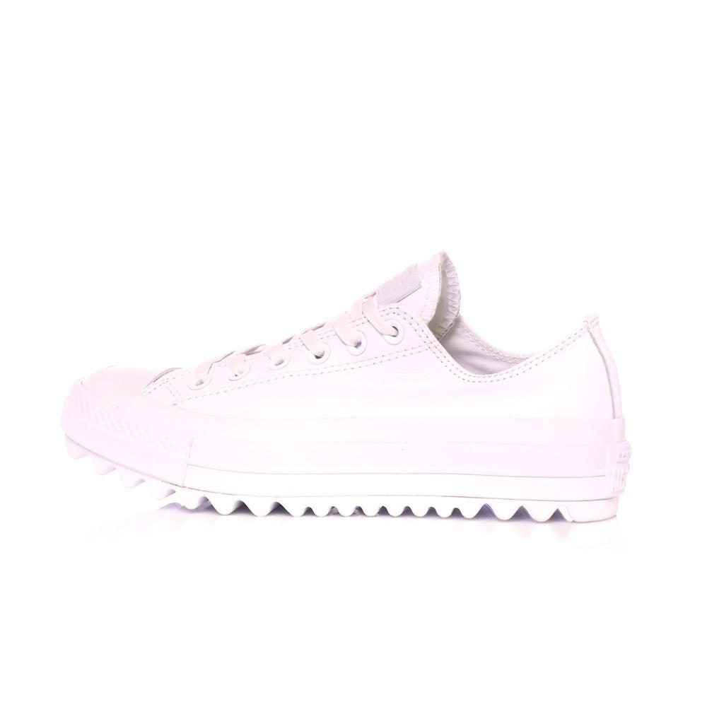 CONVERSE – Γυναικεία sneakers CONVERSE CHUCK TAYLOR ALL STAR LIFT RIPPLE λευκά