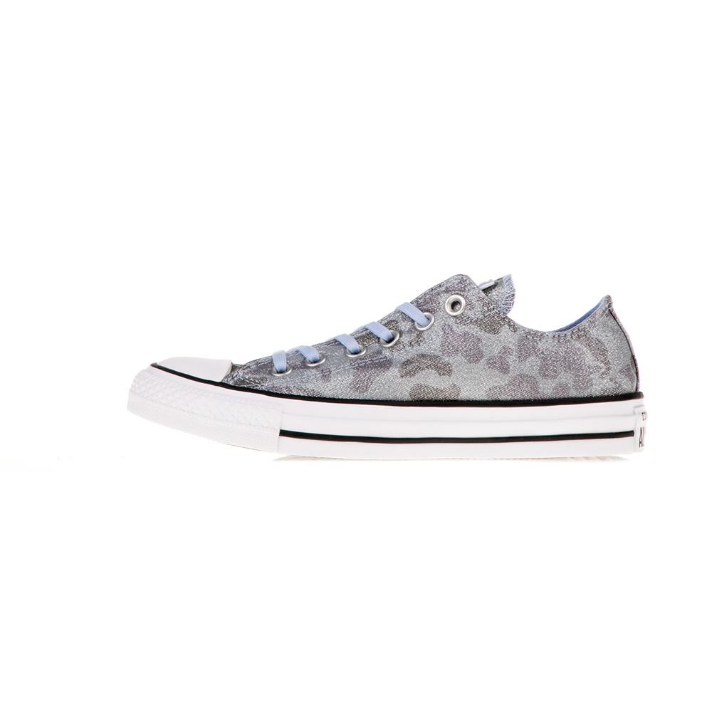 CONVERSE – Γυναικεία sneakers CONVERSE Chuck Taylor All Star Ox μπλε ασημί