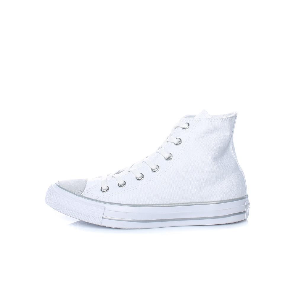 CONVERSE – Γυναικεία μποτάκια Chuck Taylor All Star Hi λευκά