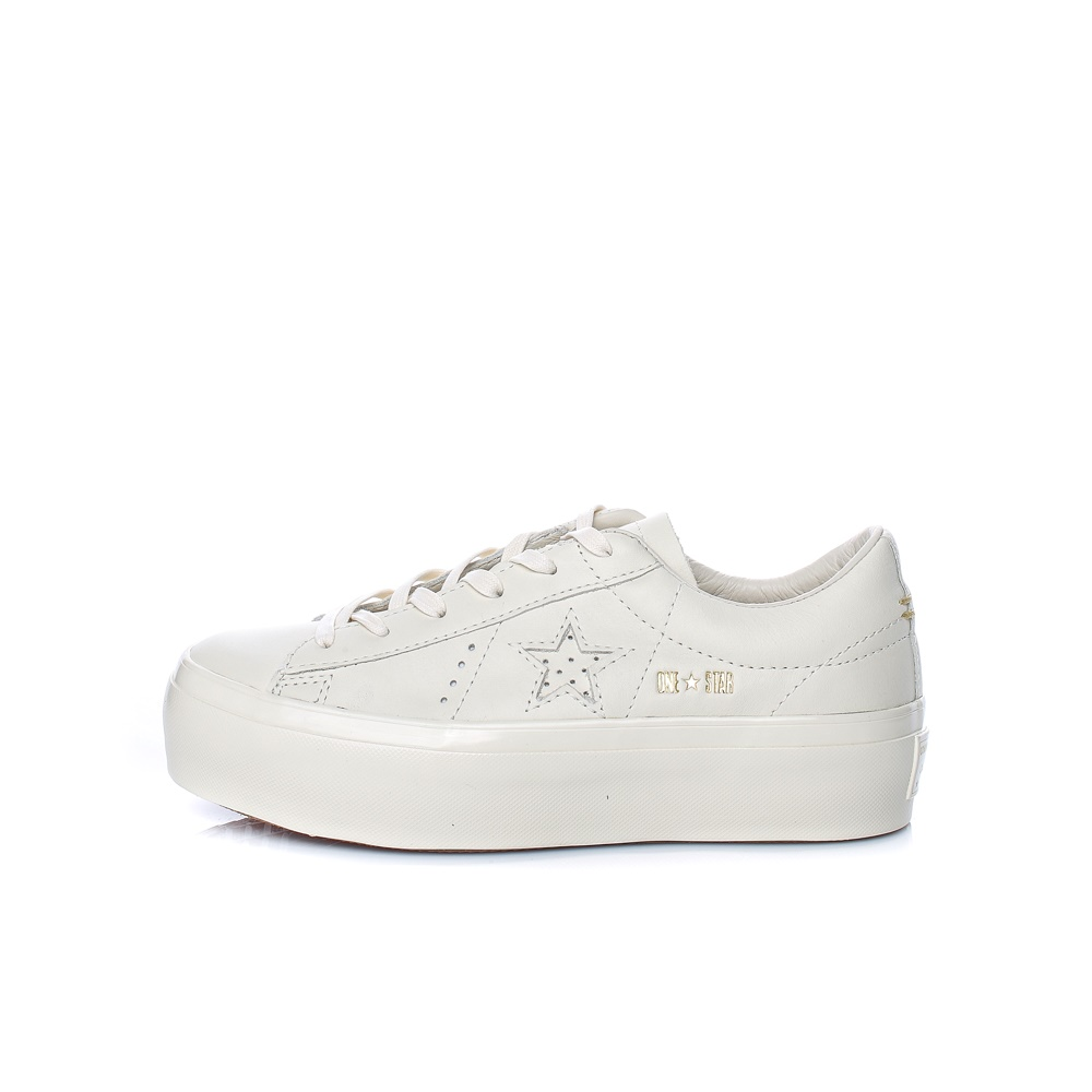 CONVERSE – Γυναικεία παπούτσια One Star Platform Ox εκρού