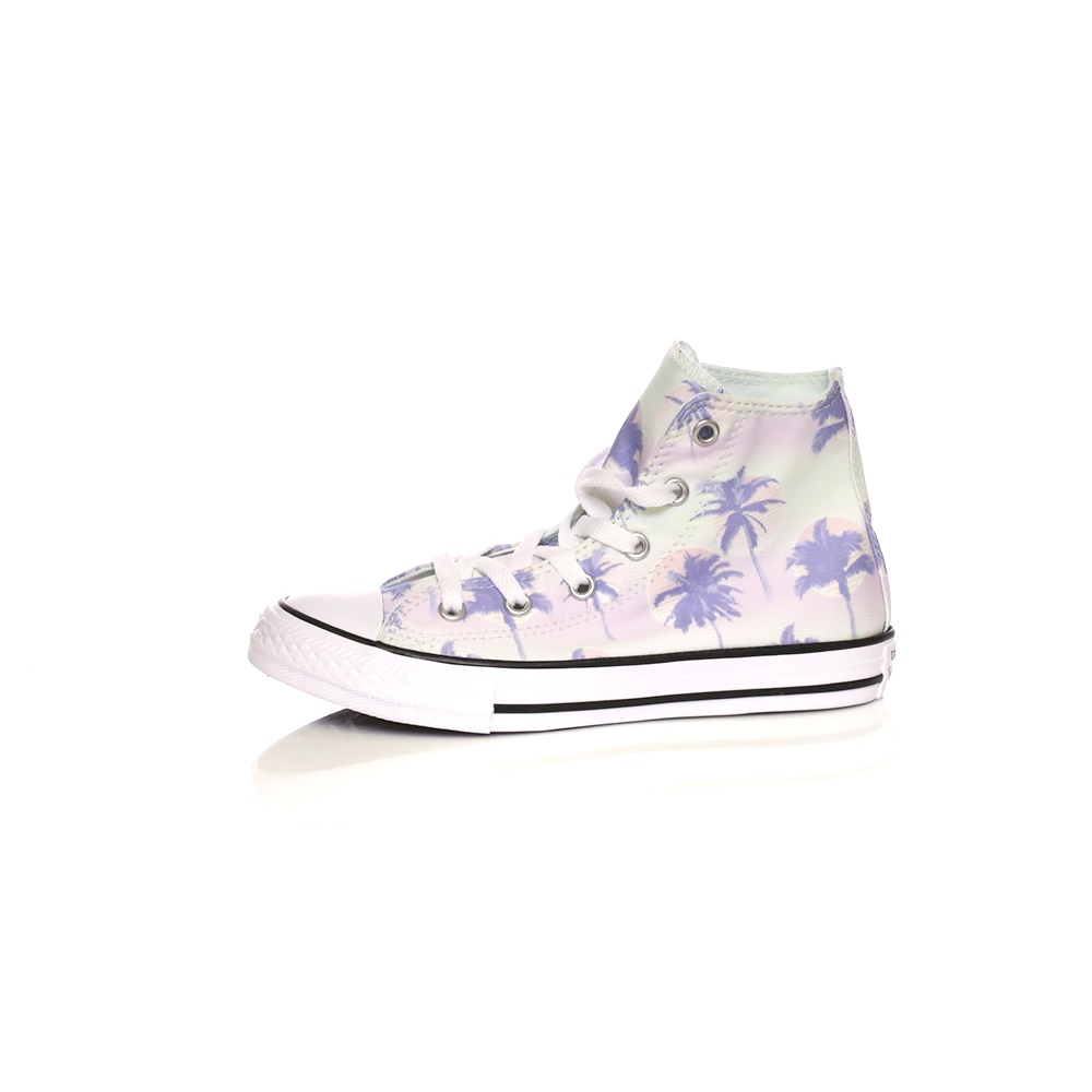 -30% Factory Outlet CONVERSE – Παιδικά μποτάκια Converse Chuck Taylor All  Star Hi με print 004ab87d636