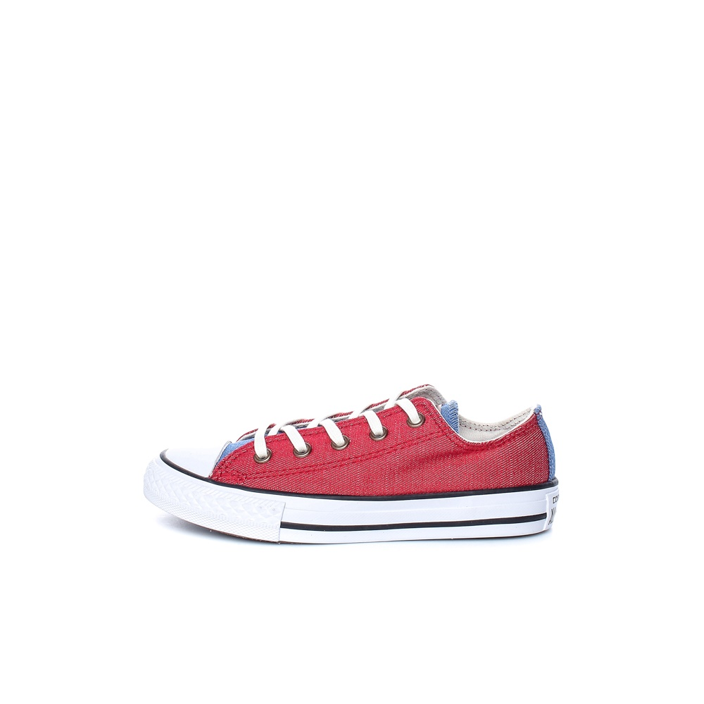 CONVERSE – Παιδικά παπούτσια Chuck Taylor All Star Ox κόκκινα