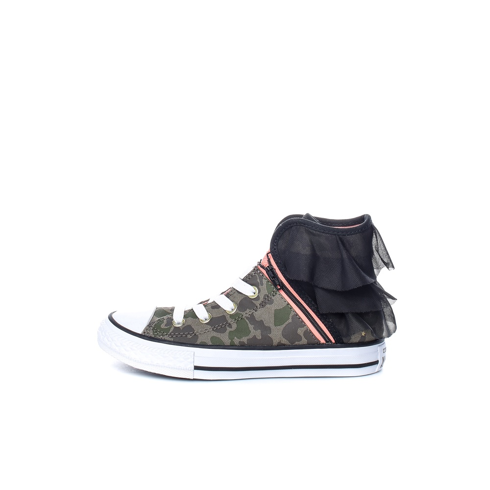 CONVERSE – Παιδικά παπούτσια Chuck Taylor All Star Block με μοτίβο παραλλαγής