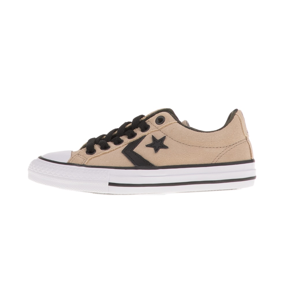 CONVERSE – Παιδικά sneakers CONVERSE STAR PLAYER EV OX μπεζ