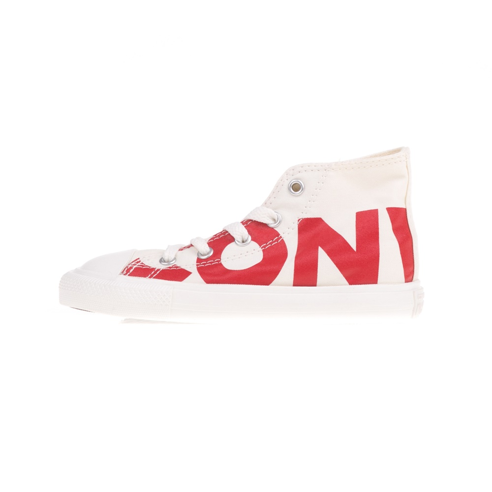 CONVERSE – Βρεφικά παπούτσια CONVERSE Chuck Taylor All Star Hi λευκά