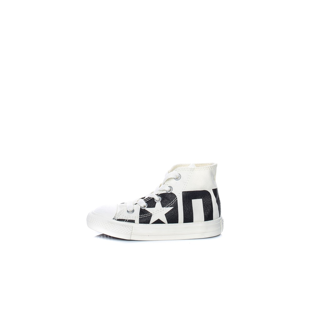 CONVERSE – Βρεφικά παπούτσια CONVERSE Chuck Taylor All Star Hi λευκά