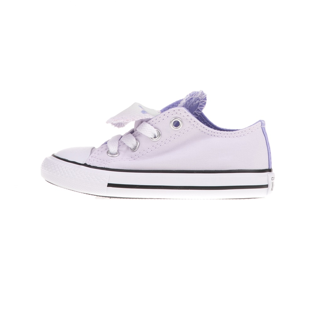 CONVERSE – Βρεφικά sneakers CONVERSE Chuck Taylor All Star Double μοβ