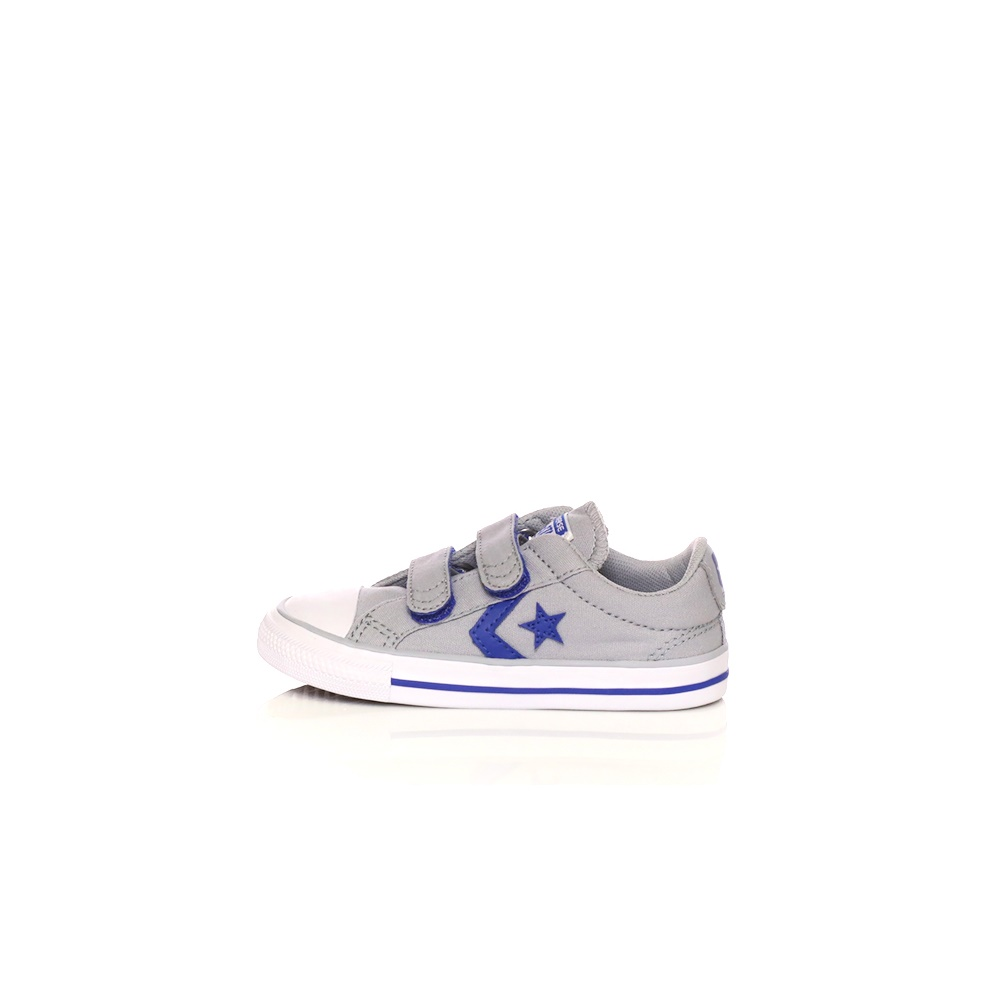 45348b740ce -30% Factory Outlet CONVERSE – Βρεφικά sneakers Converse Star Player Ox γκρι