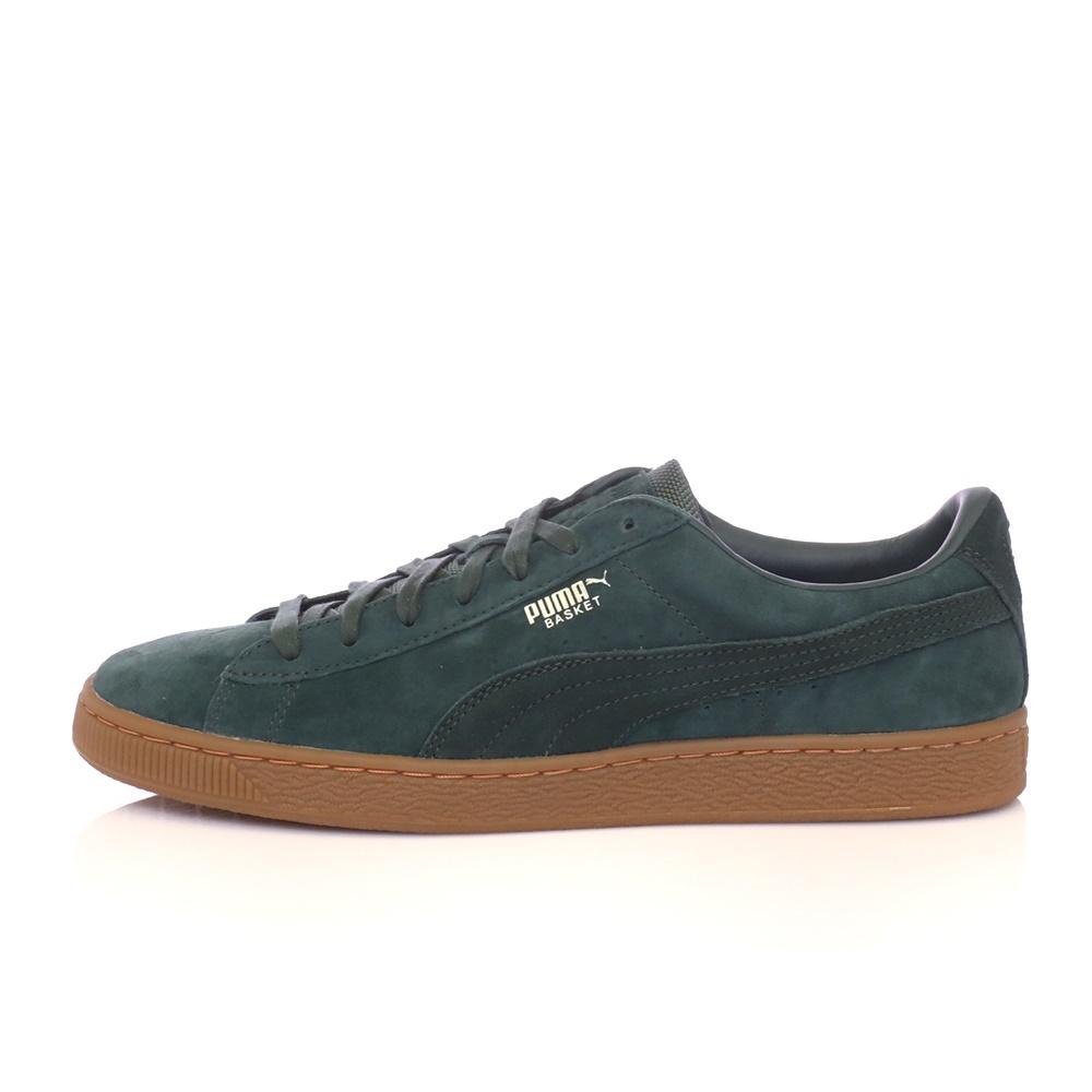 PUMA – Ανδρικά παπούτσια Puma Basket Classic Weather Proof πράσινα