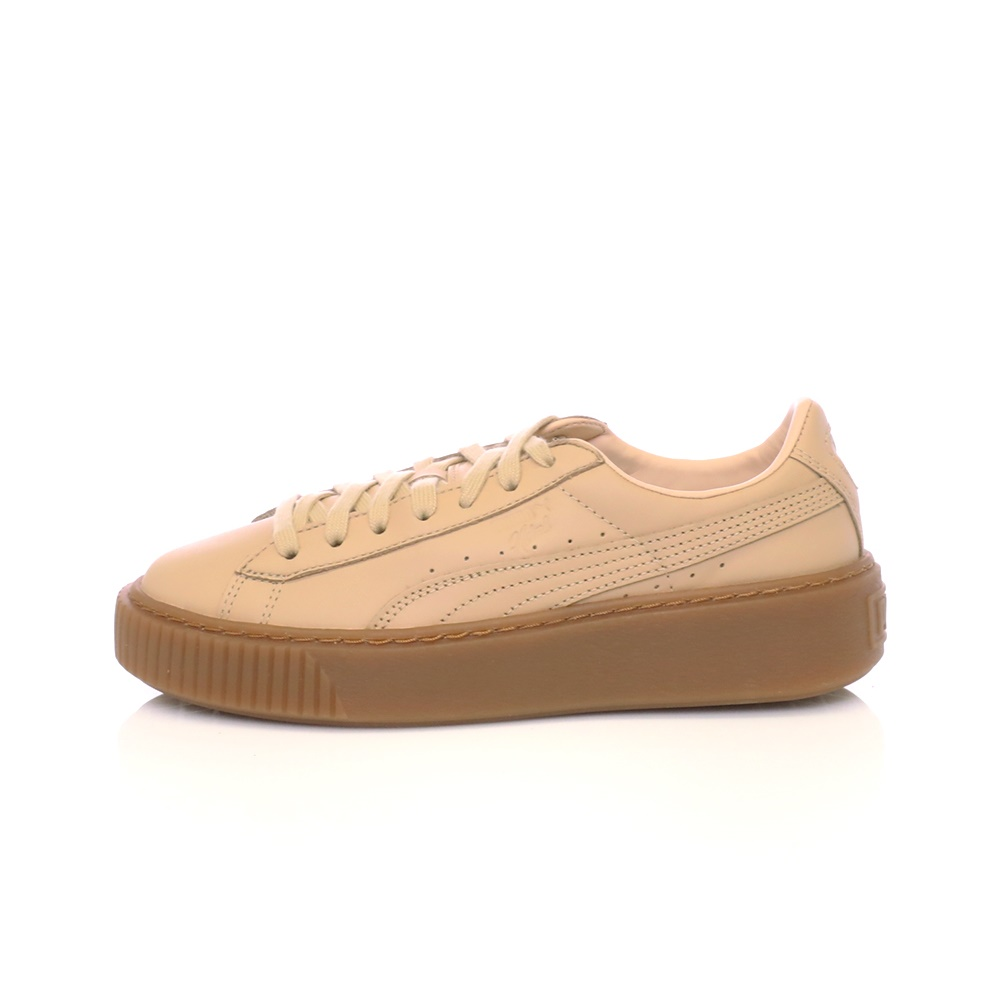 PUMA – Γυναικεία παπούτσια Platform Veg Tan PUMA μπεζ