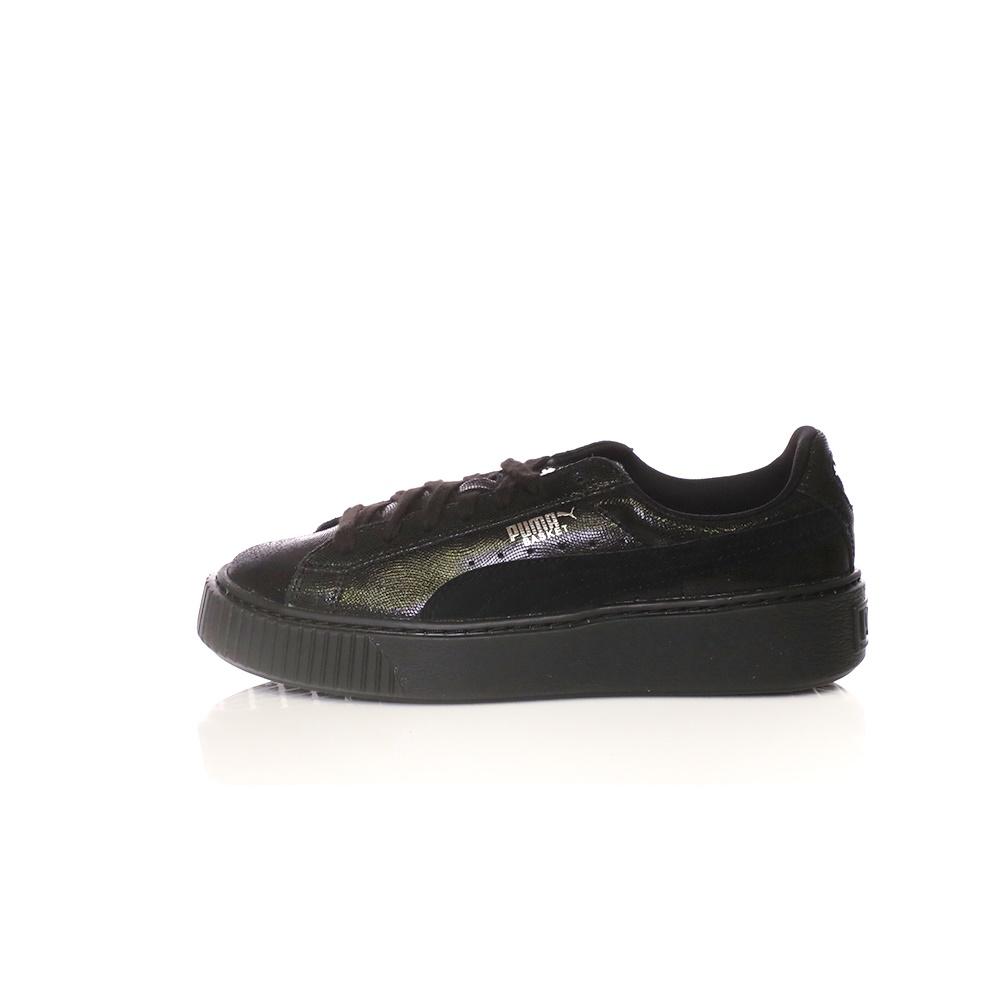 PUMA – Γυναικεία sneakers PUMA Basket Platform NS μαύρα