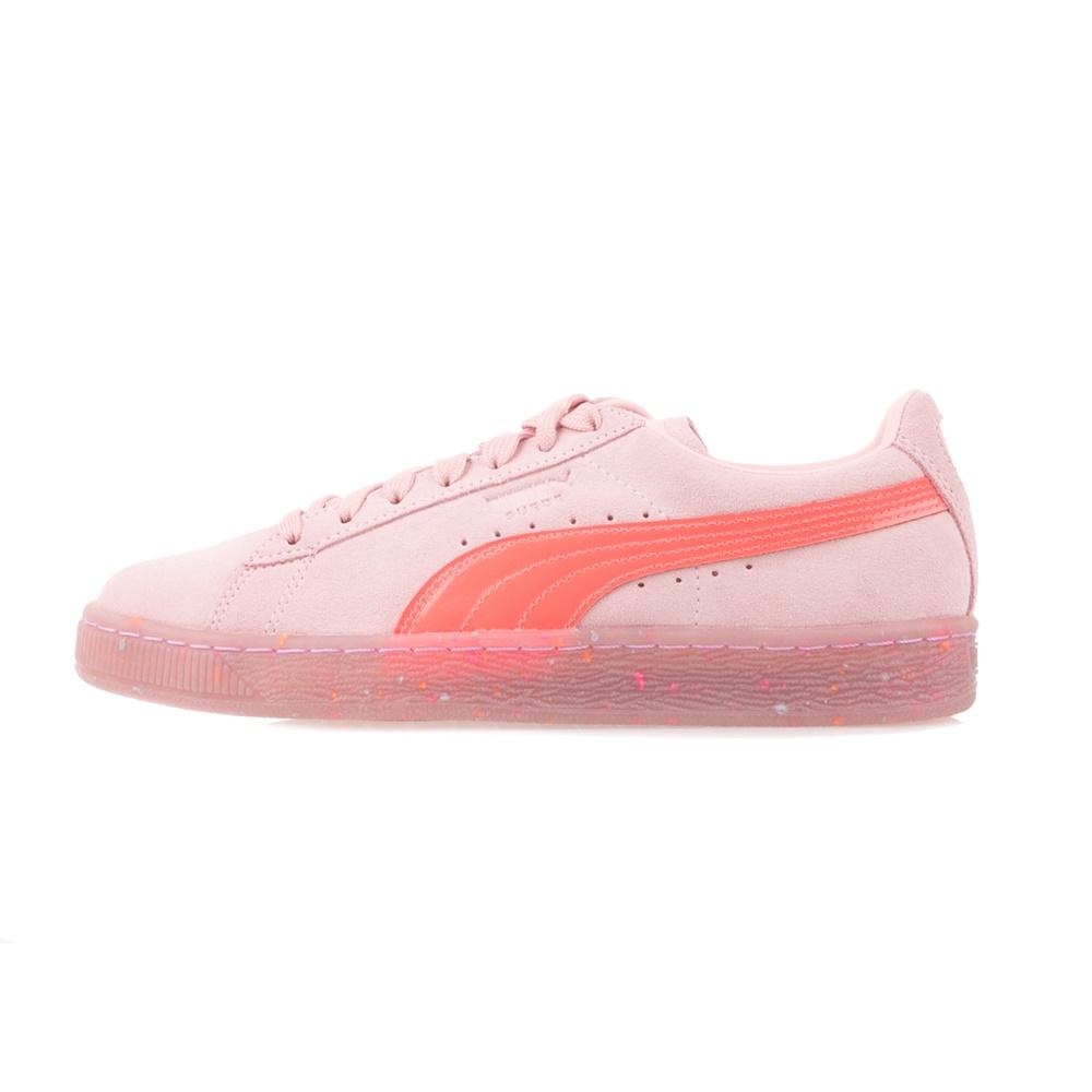 PUMA – Γυναικεία μποτάκια PUMA Suede Wns SW ροζ
