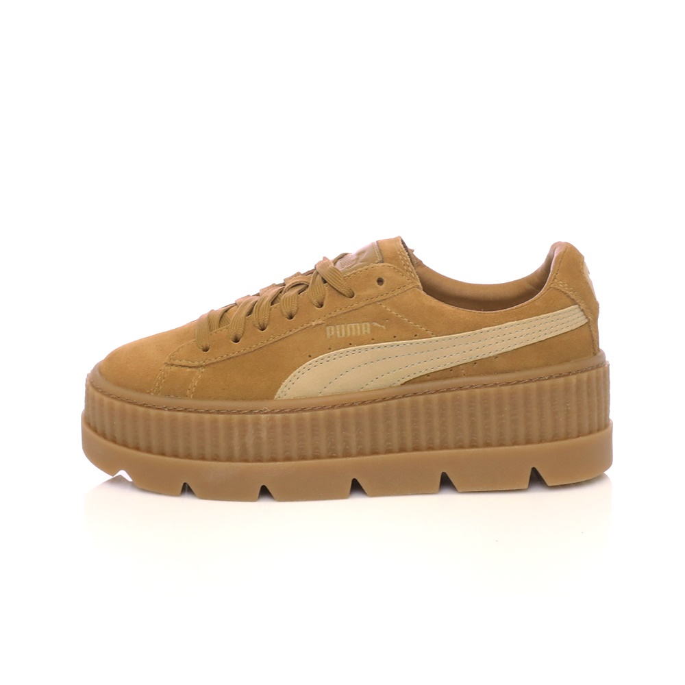 PUMA – Γυναικεία sneakers Fenty Cleated Creeper Suede μπεζ
