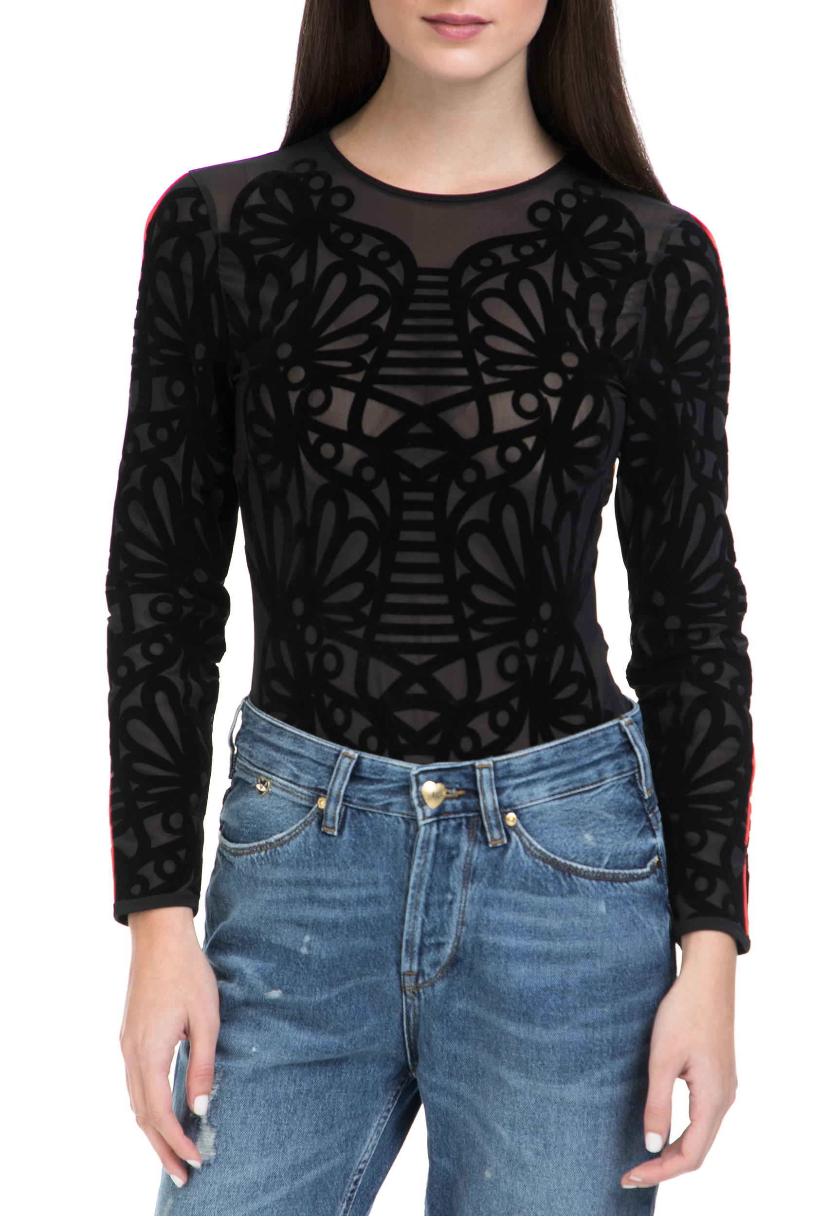 PUMA - Γυναικείο body PUMA x SW Bodysuit μαύρο γυναικεία ρούχα εσώρουχα κορμάκια