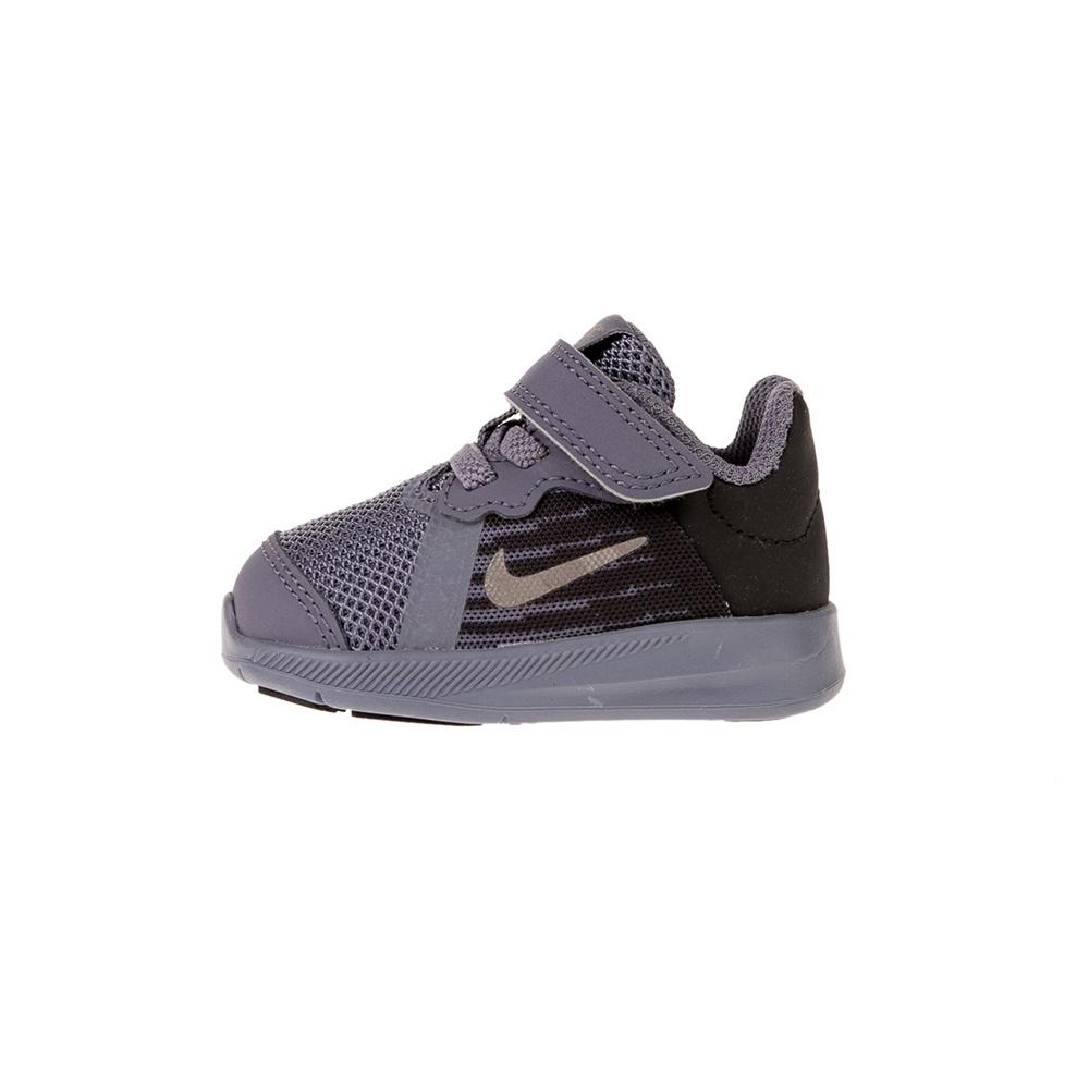 NIKE – Βρεφικά αθλητικά παπούτσια NIKE DOWNSHIFTER 8 (TDV) γκρι