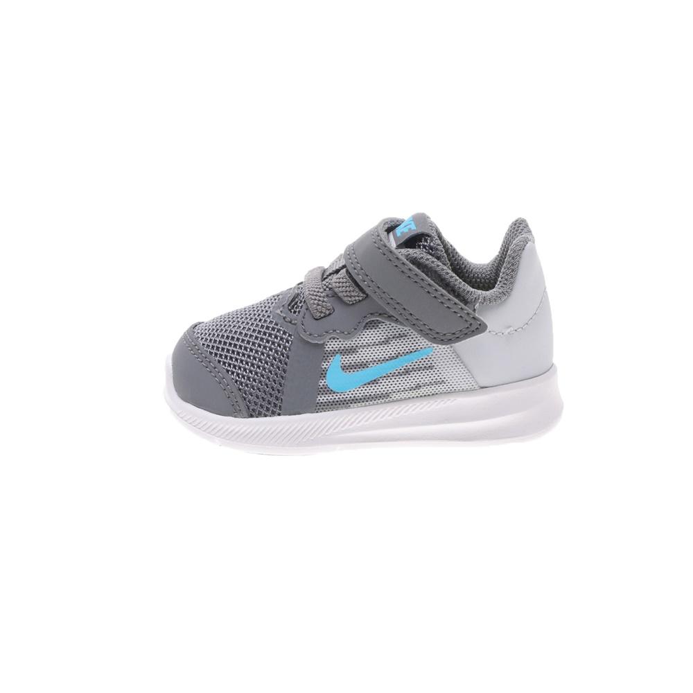 NIKE – Βρεφικά αθλητικά παπούτσια DOWNSHIFTER 8 (TDV) γκρι μπλε
