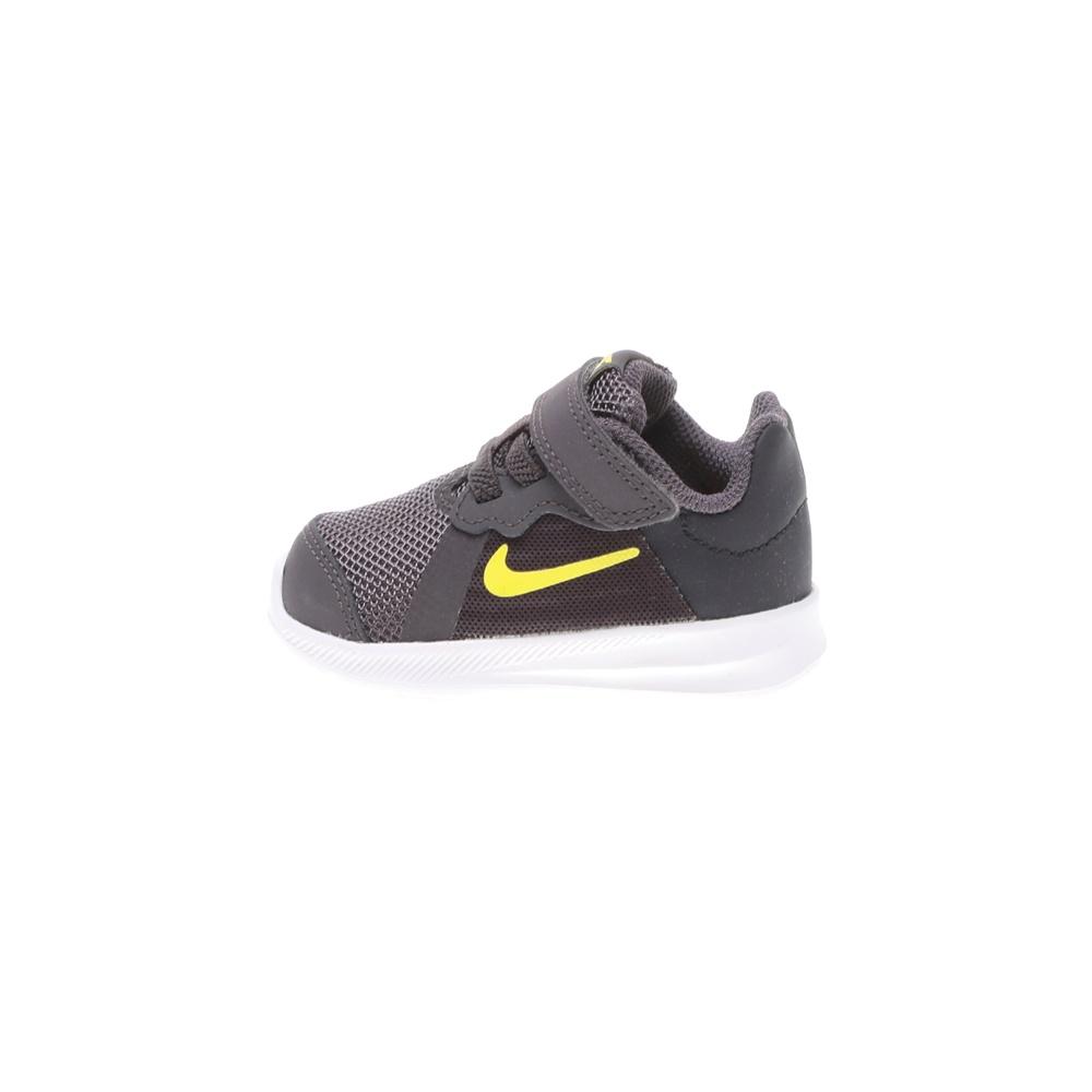 NIKE – Βρεφικά αθλητικά παπούτσια DOWNSHIFTER 8 (TDV) γκρι κίτρινο