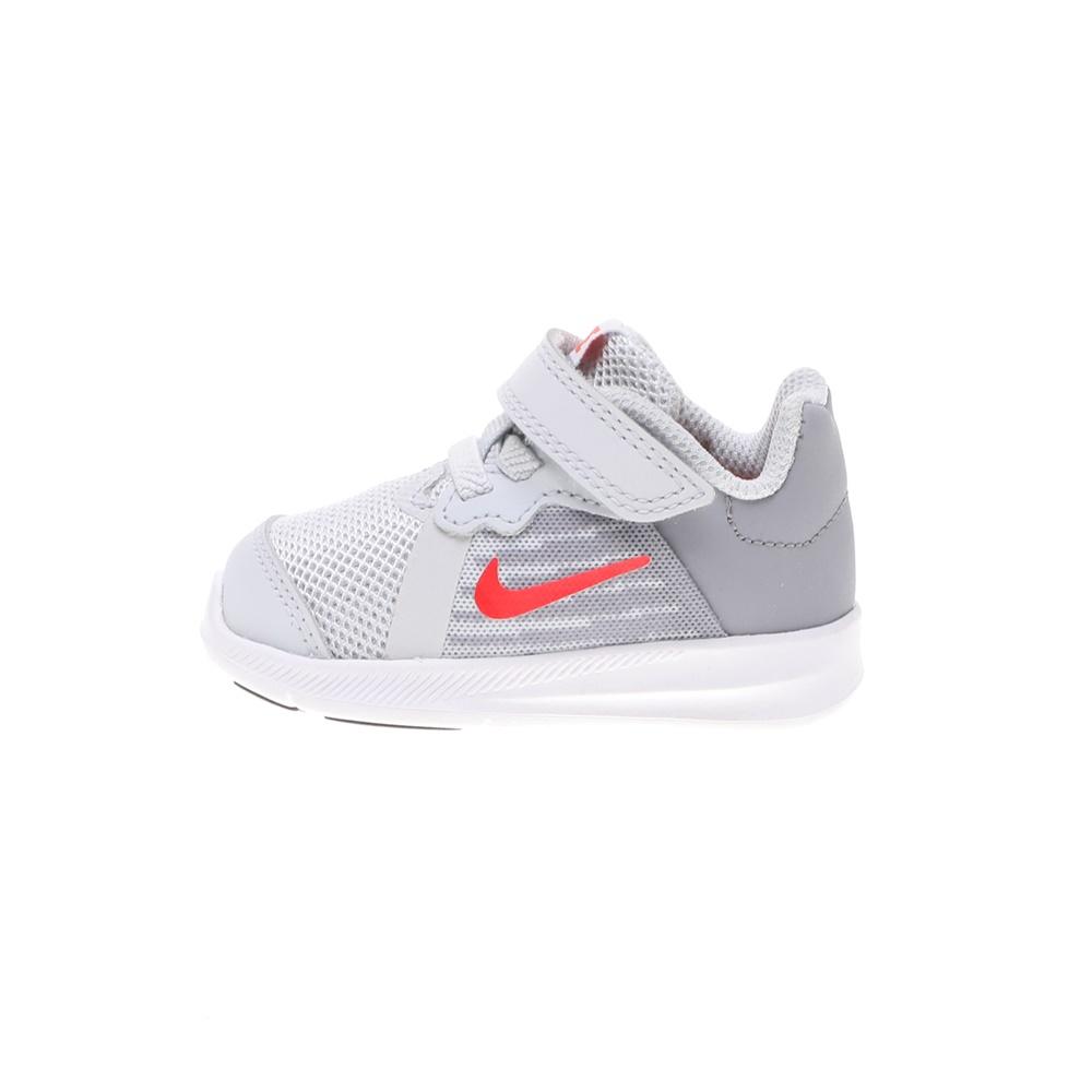 NIKE – Βρεφικά αθλητικά παπούτσια NIKE DOWNSHIFTER 8 (TDV) γκρι κόκκινο