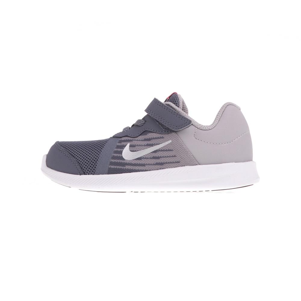 NIKE – Βρεφικά αθλητικά παπούτσια NIKE DOWNSHIFTER 8 (TDV) γκρι-ροζ