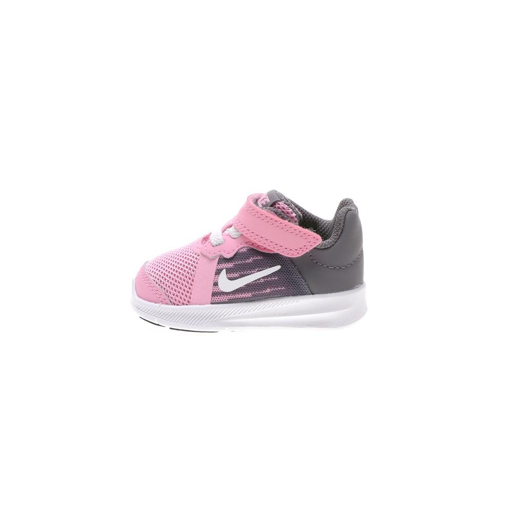 NIKE – Βρεφικά αθλητικά παπούτσια DOWNSHIFTER 8 (TDV) ροζ γκρι