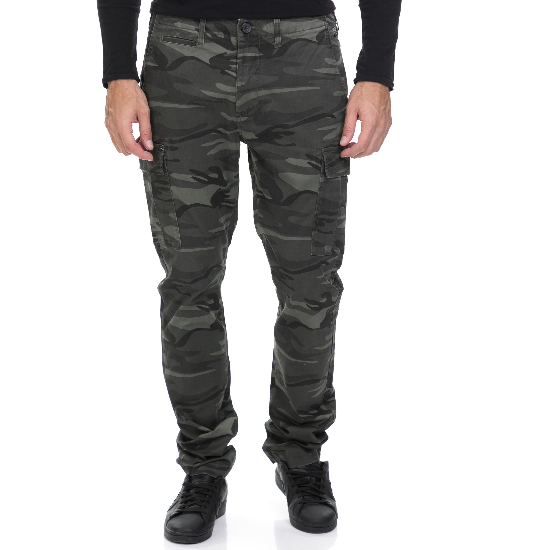 BASEHIT - Ανδρικό παντελόνι BASEHIT χακί ανδρικά ρούχα παντελόνια cargo
