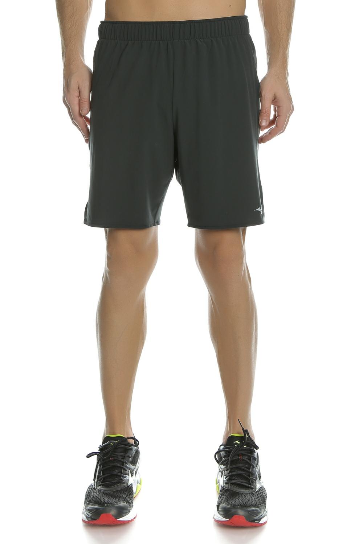 MIZUNO - Ανδρικό σορτς για τρέξιμο Alpha 8.5 μαύρο ανδρικά ρούχα σορτς βερμούδες αθλητικά