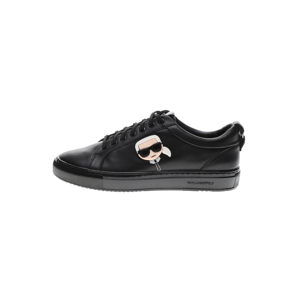 KARL LAGERFELD – Ανδρικά sneakers KARL LAGERFELD KUPSOLE Plexikon Karl Lace μαύρα