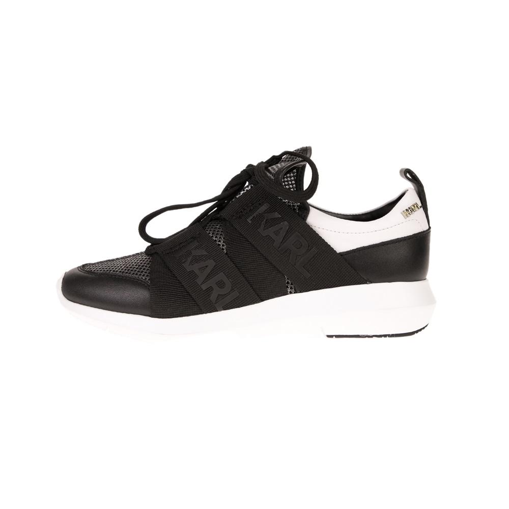 KARL LAGERFELD – Γυναικεία sneakers KARL LAGERFEND VITESSE Legere Strap Mesh μαύρα