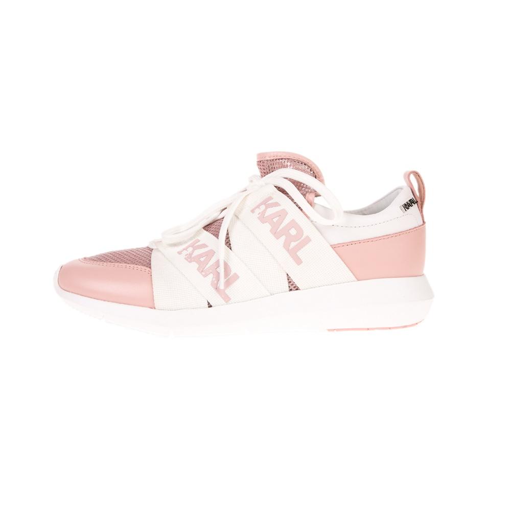 KARL LAGERFELD – Γυναικεία sneakers KARL LAGERFEND VITESSE Legere Strap Mesh σομόν