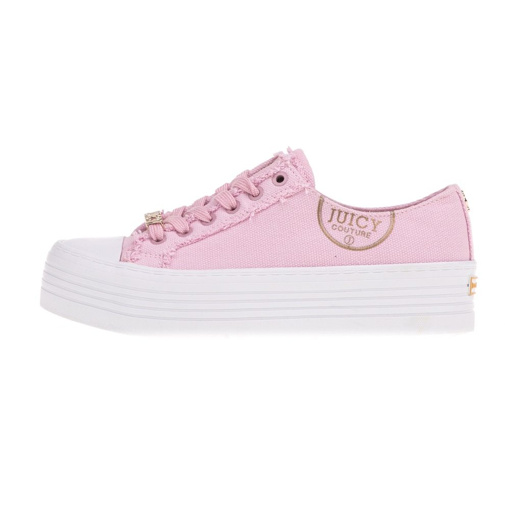 JUICY COUTURE – Γυναικεία sneakers ZANDRA JUICY COUTURE ροζ