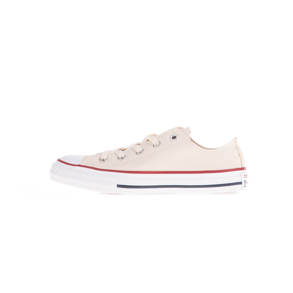CONVERSE – Παιδικά παπούτσια CONVERSE CHUCK TAYLOR ALL STAR ΟΧ μπεζ