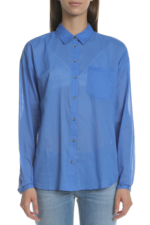 SCOTCH & SODA - Γυναικείο πουκάμισο SCOTCH & SODA μπλε