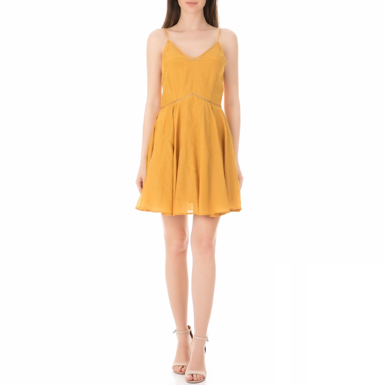 SCOTCH & SODA - Γυναικείο μίνι φόρεμα SCOTCH & SODA κίτρινο