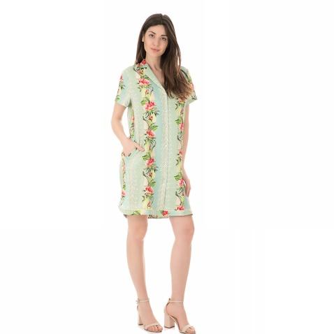SCOTCH & SODA-Γυναικείο μίνι φόρεμα SCOTCH & SODA POOLSIDE φλοράλ