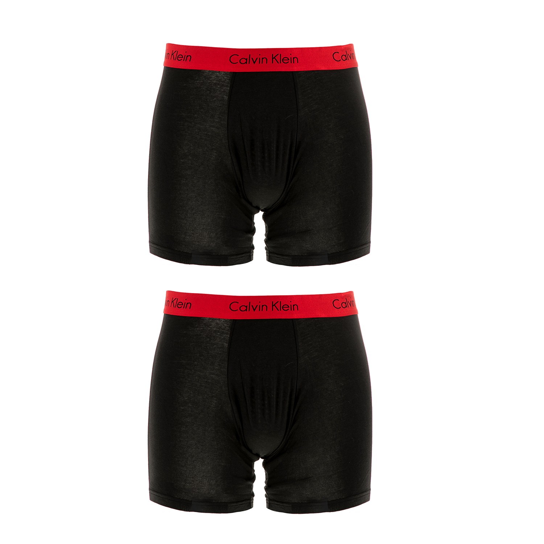 CK UNDERWEAR - Ανδρικό σετ μπόξερ Calvin Klein μαύρα ανδρικά ρούχα εσώρουχα μπόξερ